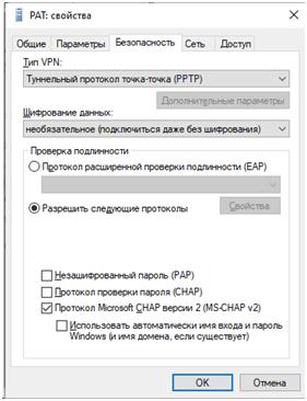 Безопасность VPN подключения